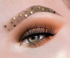 brown, eye, and makeup image