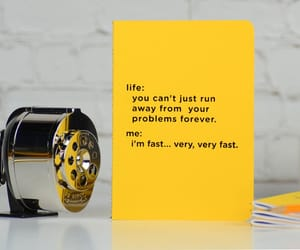 funny, yellow, and gift idea image
