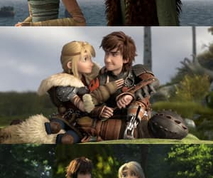 how to train your dragon, httyd, and astrid hofferson image