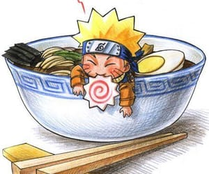 naruto, ramen, and anime image