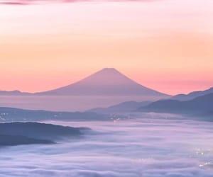 japan and landscape image