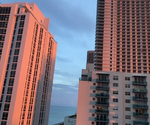 flat, Miami, and orange image