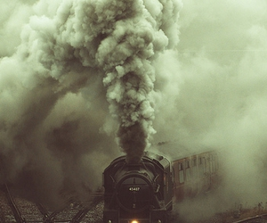 steam, train, and trains image