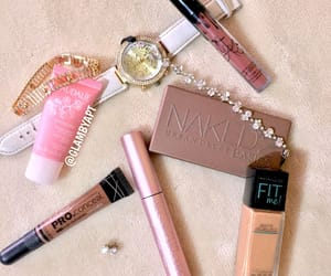 cosmetics, naked, and kylie jenner image