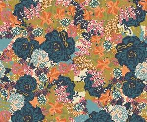 antique, design, and floral image
