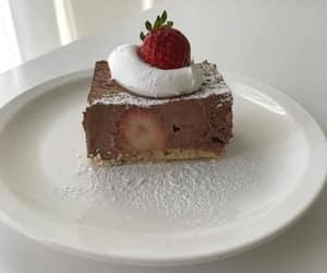 food, cake, and minimalism image