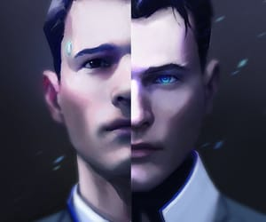 Connor, detroit become human, and rk900 image