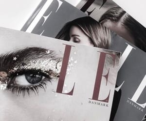 magazine, fashion, and Elle image