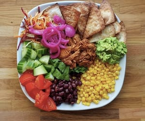 avocado, beans, and fitness image
