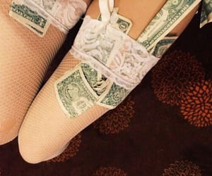 money, babydoll, and stockings image