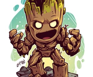 groot, guardians of the galaxy, and Avengers image
