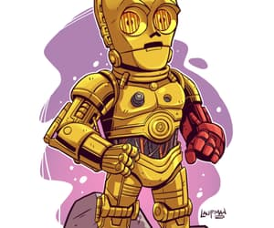 C-3PO and star wars image