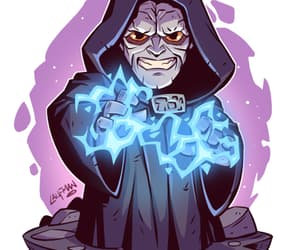 Emperor, star wars, and palpatine image