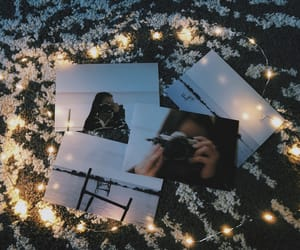 aesthetic, fairy lights, and photo image