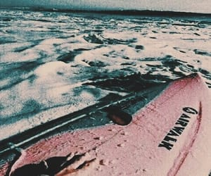 aesthetic, edit, and surfboard image