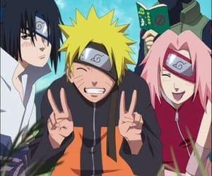 naruto, sakura, and kakashi image
