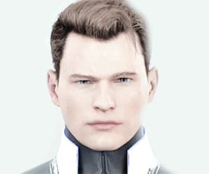 Connor, gif, and detroit become human image