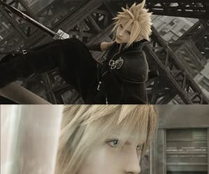 advent children, ff7, and cloud image