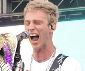 machine gun kelly, band, and singer image