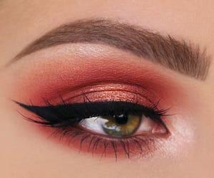 beauty, eyeshadow, and winged eyeliner image