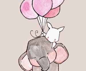 baloon and elephnant image