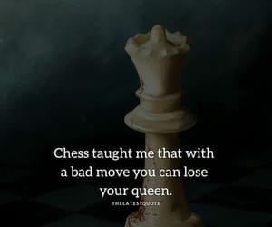 chess, lose, and Queen image
