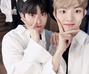 changmin, Q, and hwall image