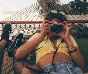 beach, fashion, and hawaii image