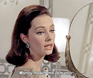 money, quotes, and romantic image