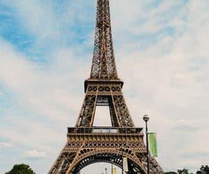 paris, tour, and eiffel image