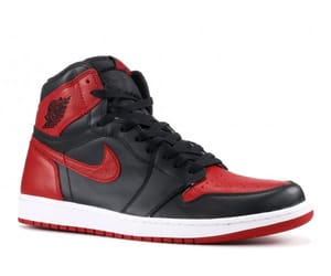air jordan, air jordan 1, and banned 2016 image