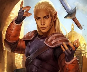hawks, zevran, and dragon age image