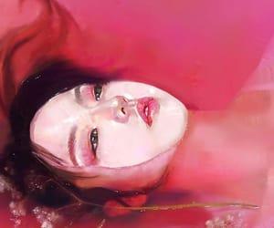 art, digital, and pink image