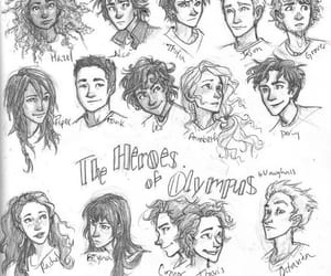 percy jackson, heroes of olympus, and burdge image