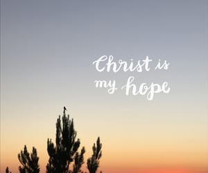 Christ, hope, and quotes image