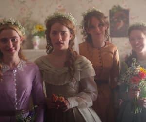 bbc, drama, and flowers image