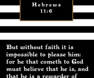 faith, god, and hebrews image