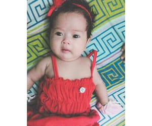 asian, baby, and red image