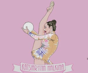 ball, draw, and rhythmic gymnastics image