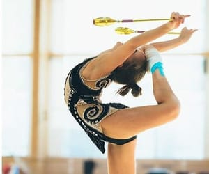 club, clubs, and rhythmic gymnastics image