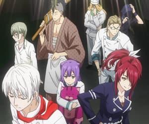 food wars, love, and shokugeki no souma image
