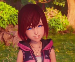 kingdom hearts and kairi image