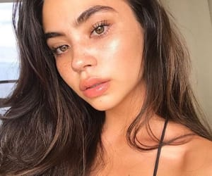 freckles, natural makeup look, and glow image