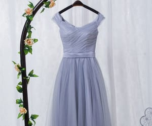 evening dress, wedding guest dress, and formal occasion dress image