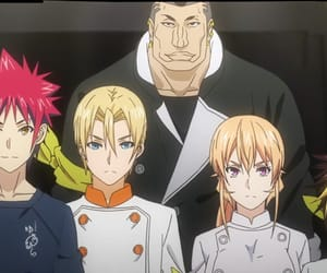 anime, food wars, and love image