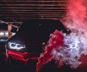 car, smoke, and ele bele image