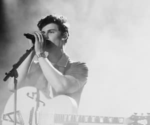 black and white, shawn mendes, and music image