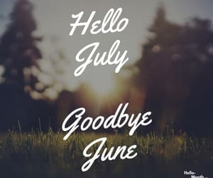 hello july and goodbye june image