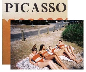 picasso, art, and beach image