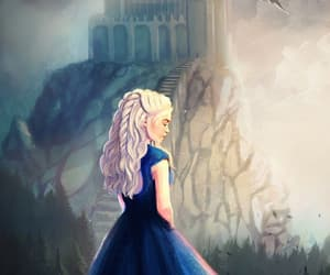 art, artist, and daenerys targaryen image